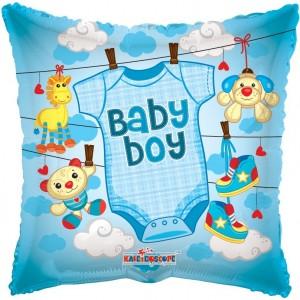 Balon folie 45 cm baby boy 1