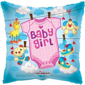 Balon folie 45 cm baby girl 1