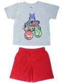 Pijamale copii Eroi in Pijamale, gri
