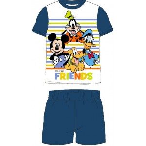 Pijamale copii Mickey and Friends, albastru