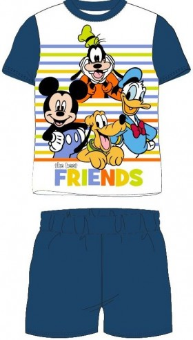 Pijamale copii Mickey and Friends, albastru