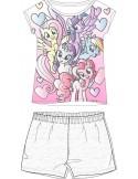 Pijamale copii My Little Pony , alb
