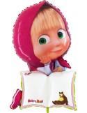 Balon figurina B-PAD Masha, personalizabil, 106 cm, multicolor