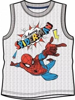 Tricou tip maieu Spiderman, gri, 100% bumbac