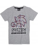 Tricou copii Sonic gri