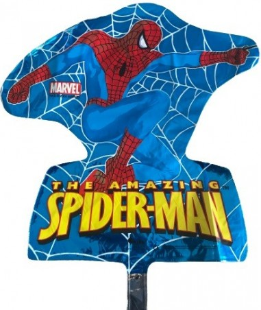 Balon minifigurina, Spiderman, albastru