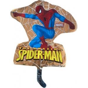 Balon minifigurina, Spiderman, auriu