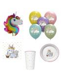 Set articole party micul unicorn