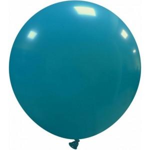Balon latex jumbo 45 cm turcoaz
