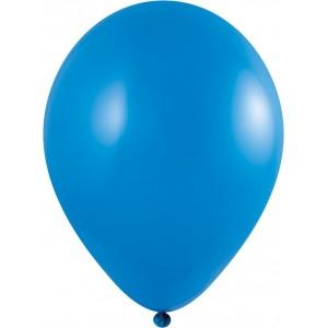 Set 5 baloane latex 35 cm albastru