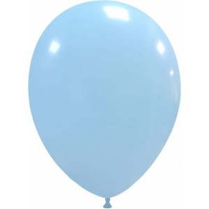 Set 5 baloane latex 35 cm baby blue