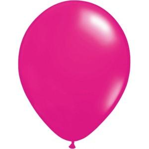 Set 5 baloane latex 35 cm roz(fuchsia)