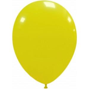 Set 5 baloane latex 35 cm galben