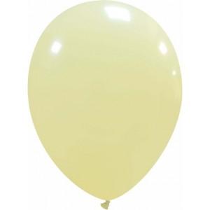 Set 5 baloane latex 35 cm ivory