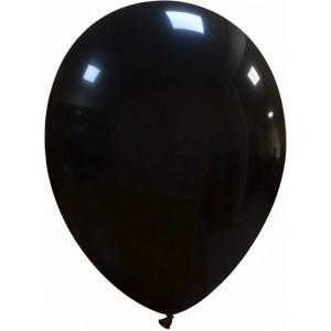 Set 5 baloane latex 35 cm negru