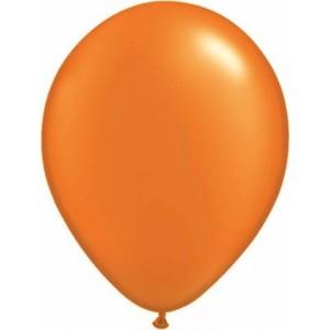 Set 5 baloane latex 35 cm orange
