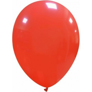 Set 5 baloane latex 35 cm rosu
