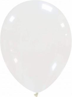 Set 5 baloane latex 35 cm transparent