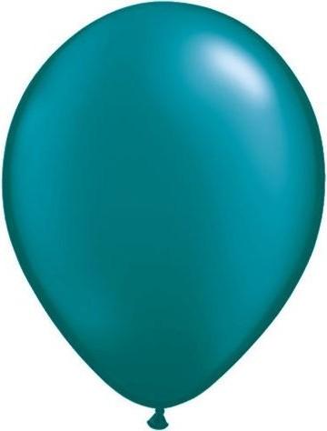 Set 5 baloane latex 35 cm alb