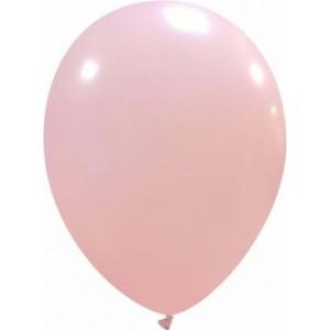 Set 5 baloane latex 35 cm roz deschis