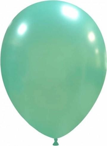 Balon latex 26 cm turcoaz