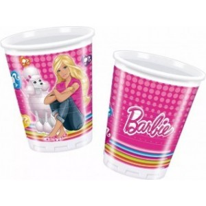 8 Pahare Barbie2 200 ml