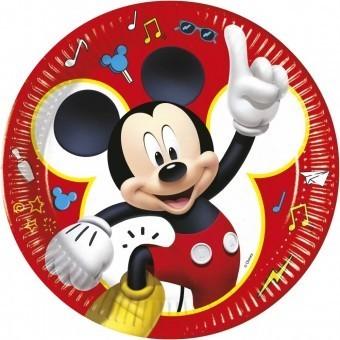 Set 8 Farfurii Mickey Play 23 cm