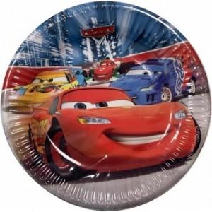 Set 8 Farfurii Cars 19.5 cm