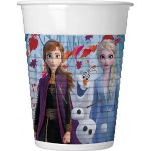 Set 8 Pahare Frozen2 200 ml
