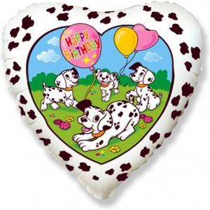 Balon folie 45 cm dalmatieni