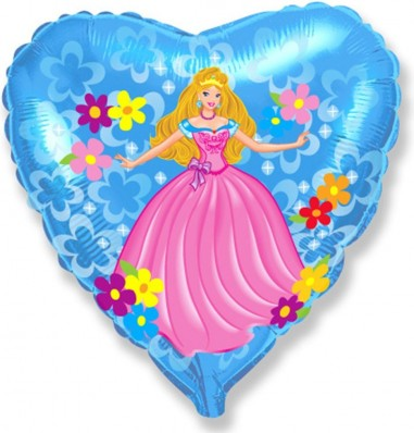 Balon folie 45 cm Princess1