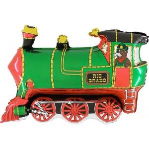 Baloane Figurine Tren Verde 75cmx57cm