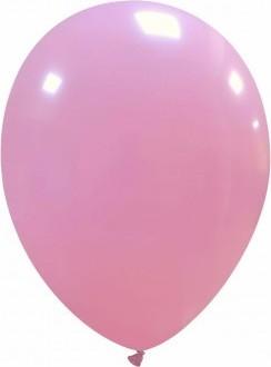 Baloane latex 13 cm roz deschis