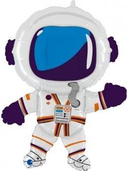 Balon folie figurina astronaut 80cmx40cm