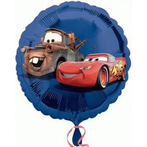 Foil balloons 45 cm Cars