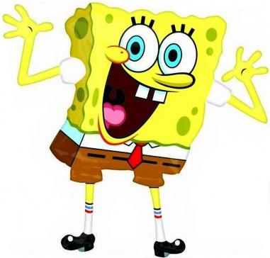 Baloane Figurine Sponge Bob 56cmx58cm