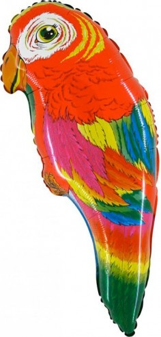 Baloane Figurine Super Papagal 42cmx89cm