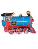 Baloane Figurine Tren Albastru 75cmx57cm