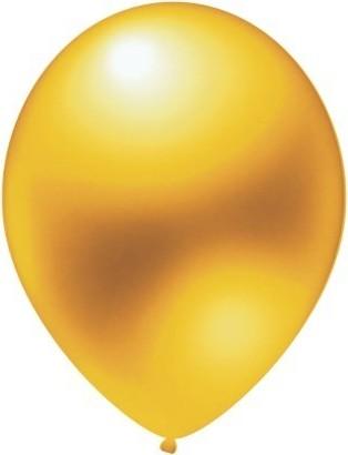 Baloane latex metalizate gold 30 cm