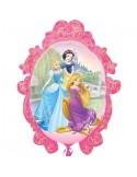 Baloane figurina Princess Rame 66cmx78cm