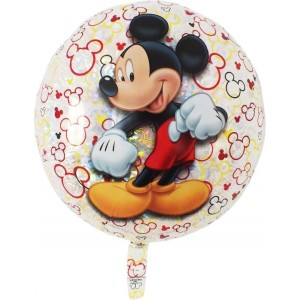 Balloon holographic Mickey 55cm