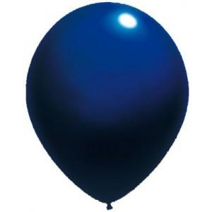 baloane latex standard 30 cm albastru inchis