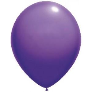 latex balloons standard 30 cm purple