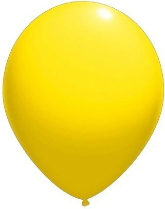 baloane latex standard 30 cm galben