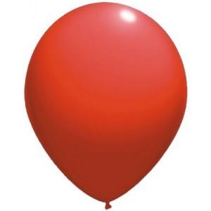 latex balloons standard 30 cm red