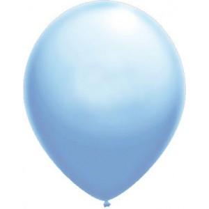 baloane latex standard 30 cm albastru luminos