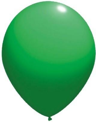 latex balloons standard 30 cm green