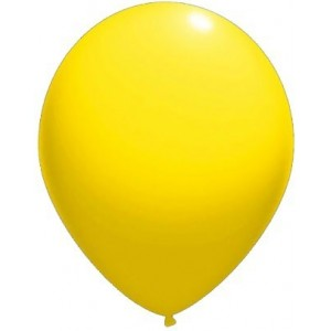 Balloons latex-standard 13 cm yellow