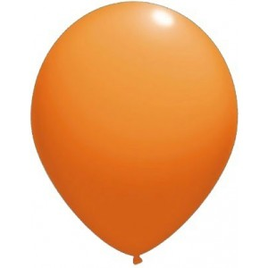 Balloons latex-standard 13 cm orange