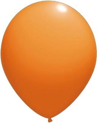 Baloane latex standard 13 cm orange